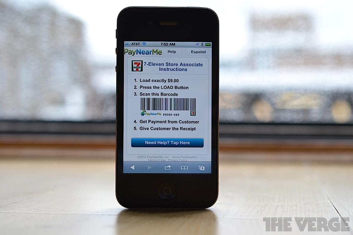 PayNearMe Mobile iOS