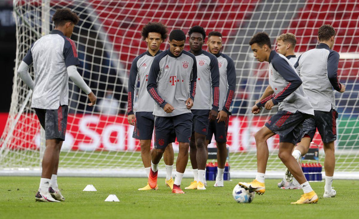 Bayern Munich Training Session: UEFA Super Cup