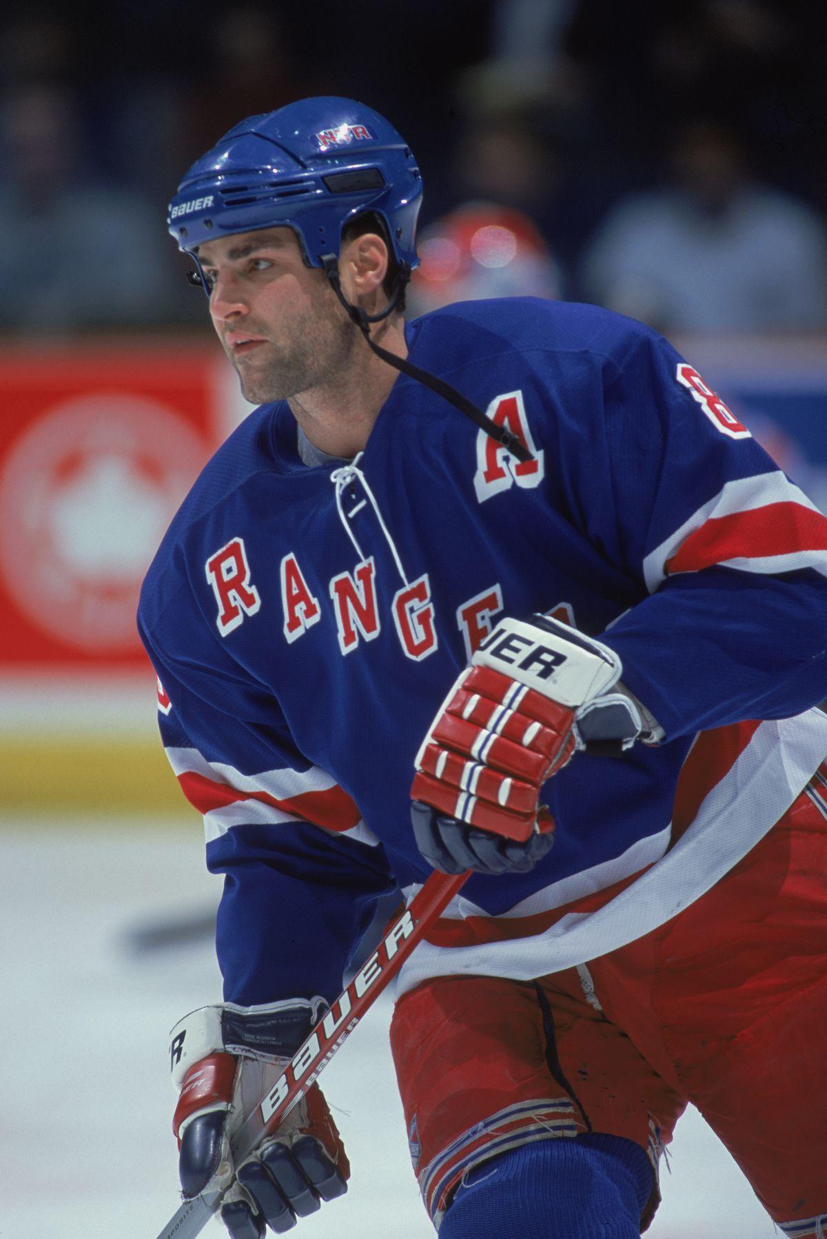 Eric Lindros #88  New York Rangers