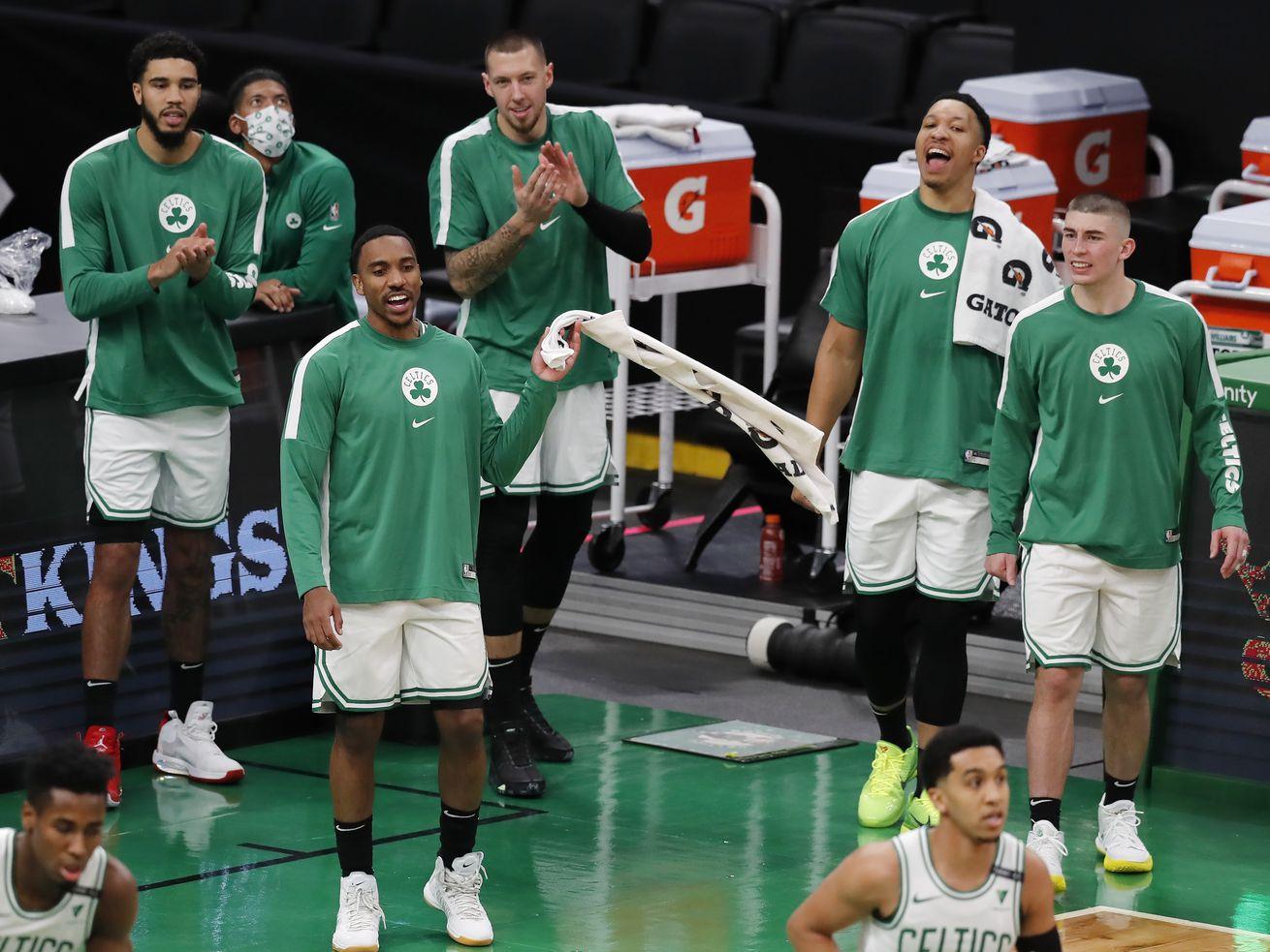 Three Boston Celtics games have been postponed this season because of coronavirus issues.
