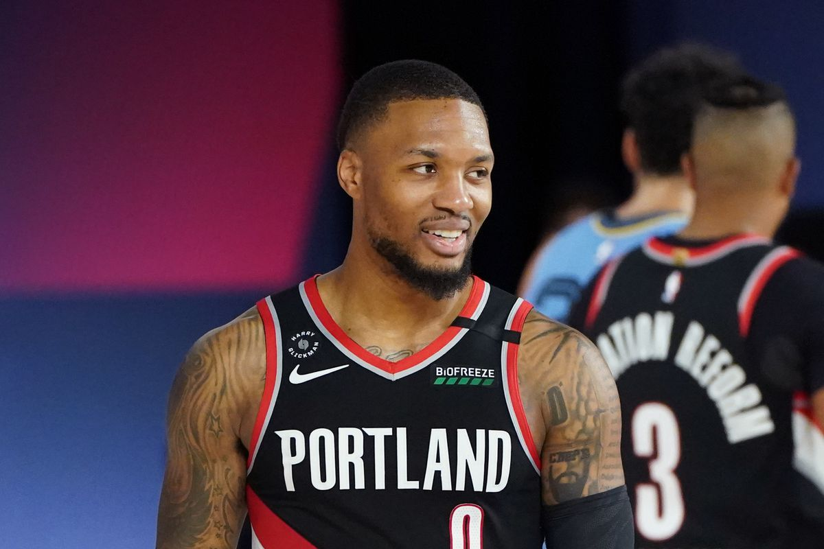 Western Conference Play in Game - Memphis Grizzlies v Portland Trail Blazers