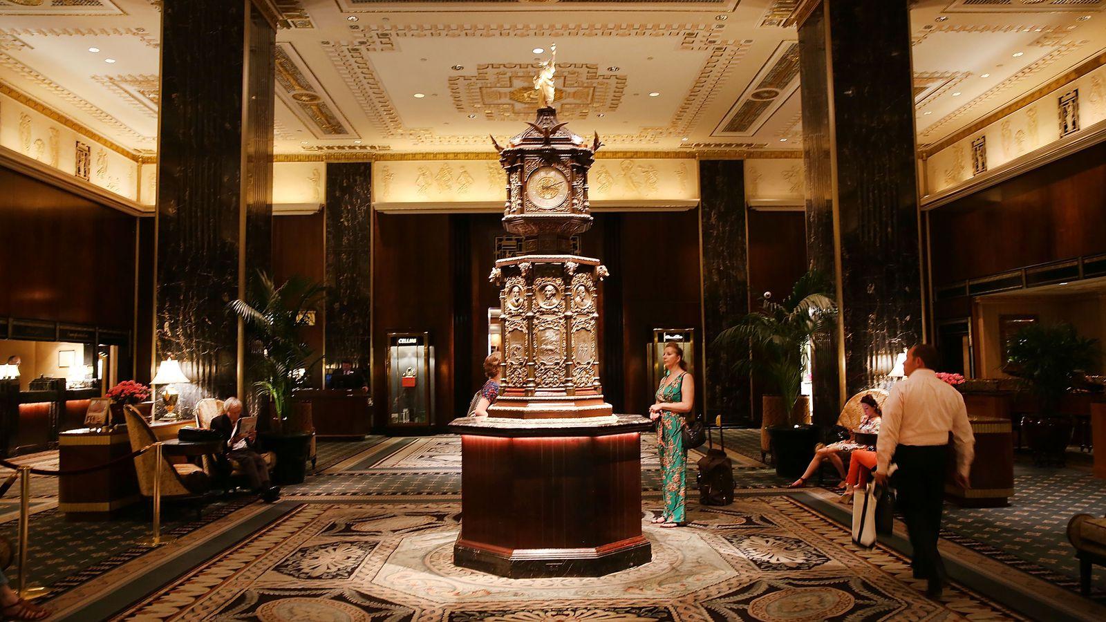 waldorf astoria u0026 39 s iconic art deco interiors become an nyc