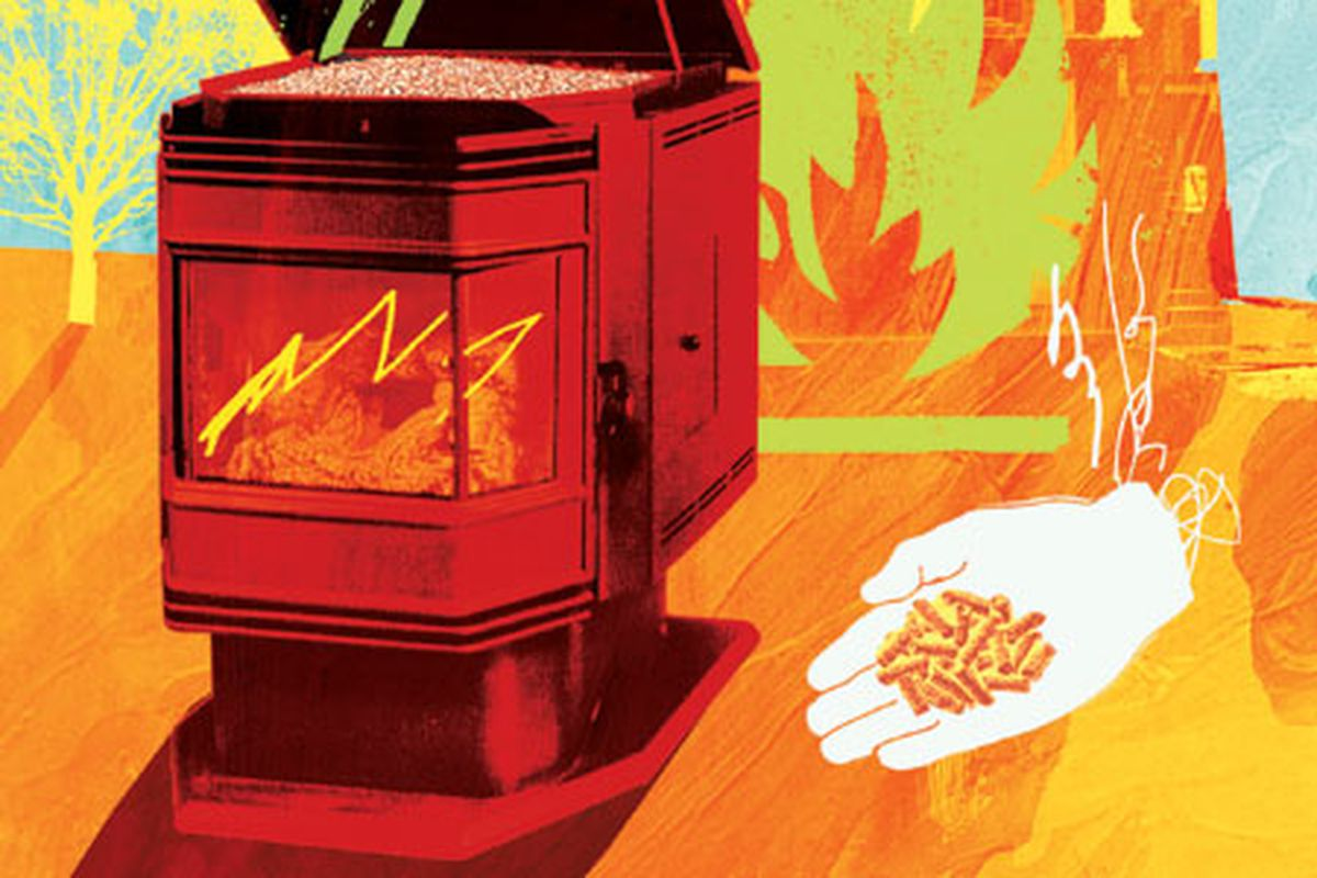 Pellet Stoves A Smarter Way To Heat The Whole House This Old House
