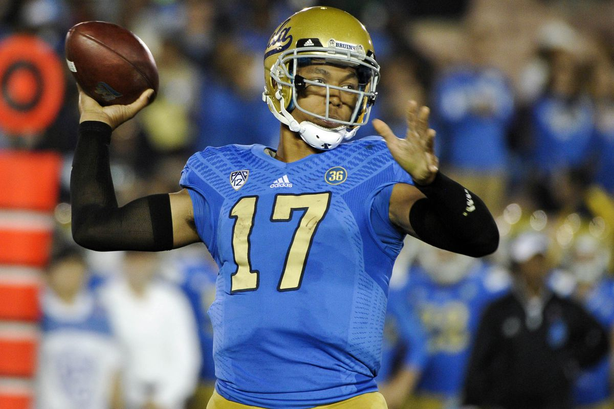 Brett Hundley leads the undefeated Bruins into Palo Alto to take on Stanford