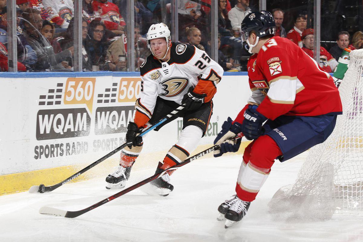 NHL: NOV 28 Ducks at Panthers