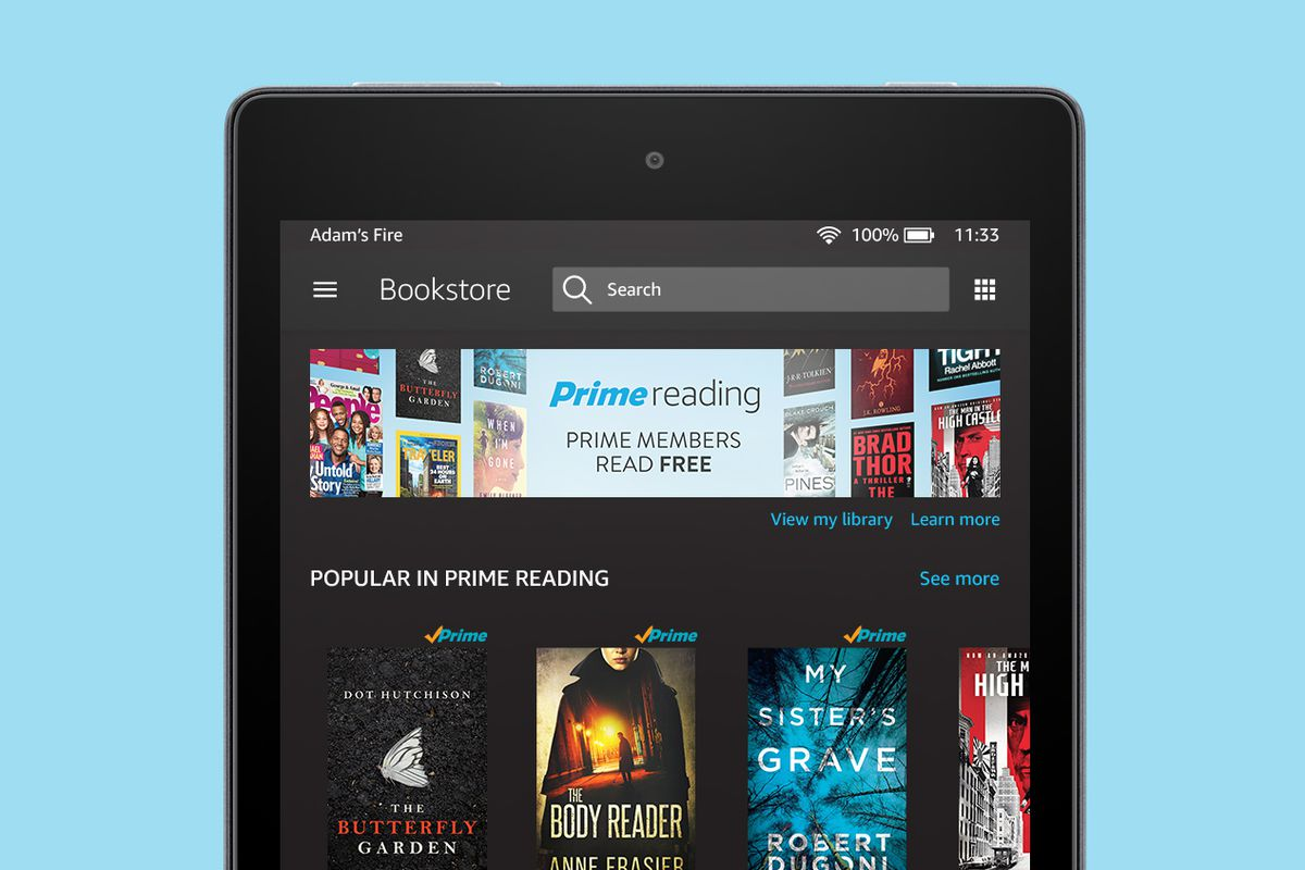 Amazon adds free ebooks to its Prime membership perks - The