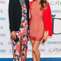 Rachel Roy and Chrissy Teigen