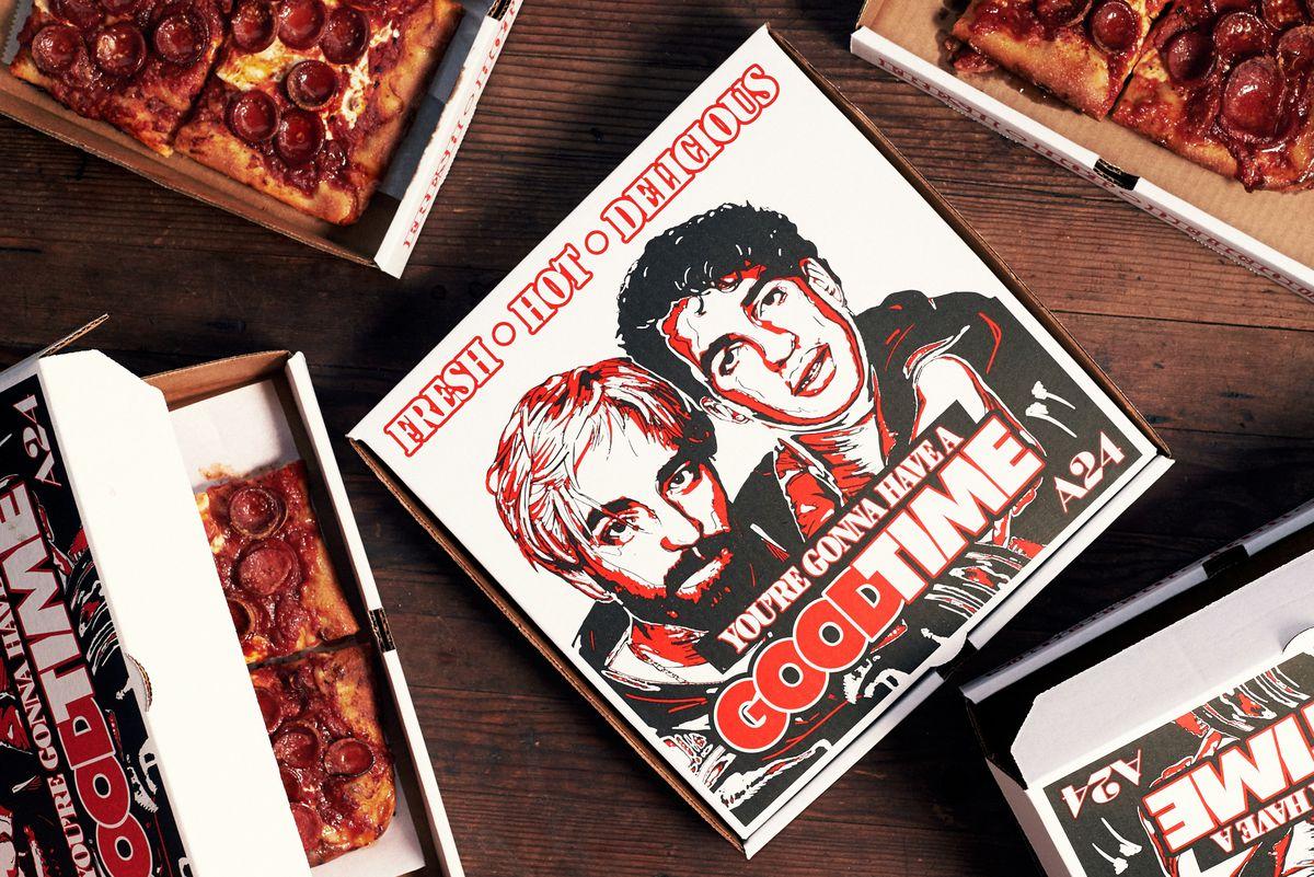 Good Time pizza box