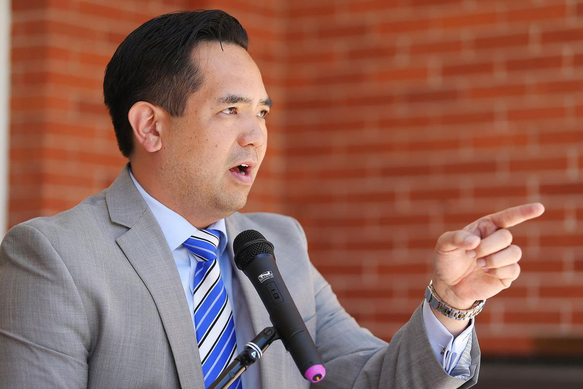 An undated photo of Attorney General Sean Reyes. Reyes is supporting legislation the U.S. House passed Wednesday to allow concealed carry license holders to pack a handgun in other states.