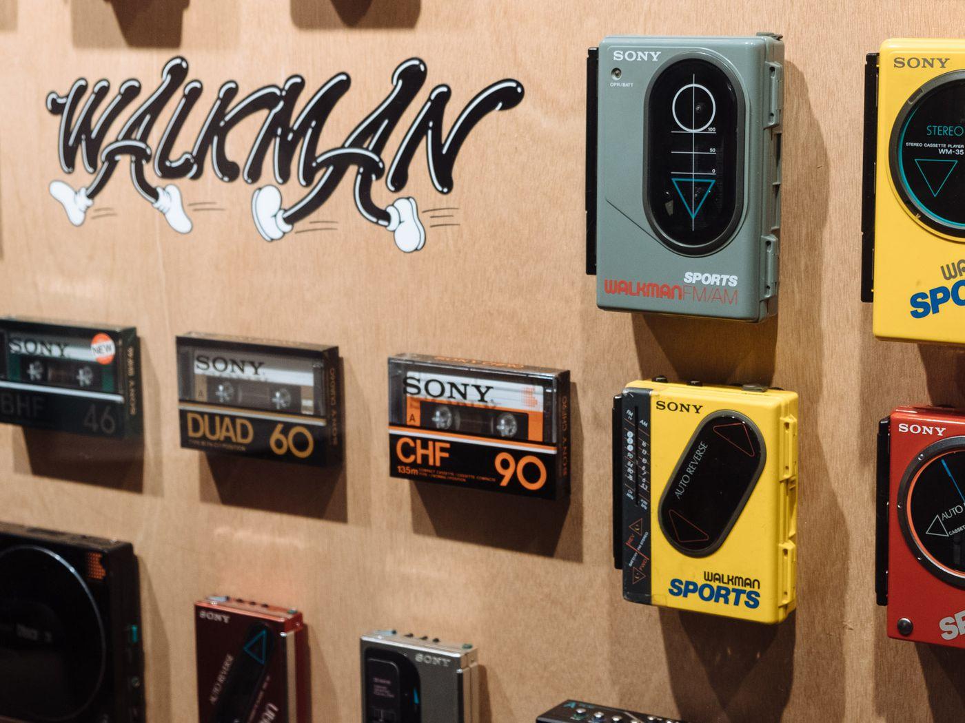 Sony Celebrates 40 Years Of Walkman In Tokyo The Verge