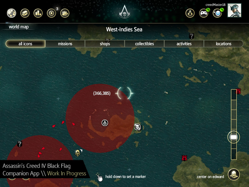 Assassins creed 4 black flag companion app enables portable mini assassins creed 4 black flag screenshots gumiabroncs