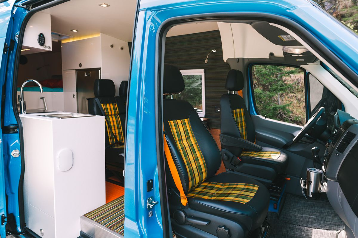 The Out Of Blue Vans Custom Plaid Tartan Fabric Was Inspired By Iconic Volkswagen Bus Photography Reuben Wurtz