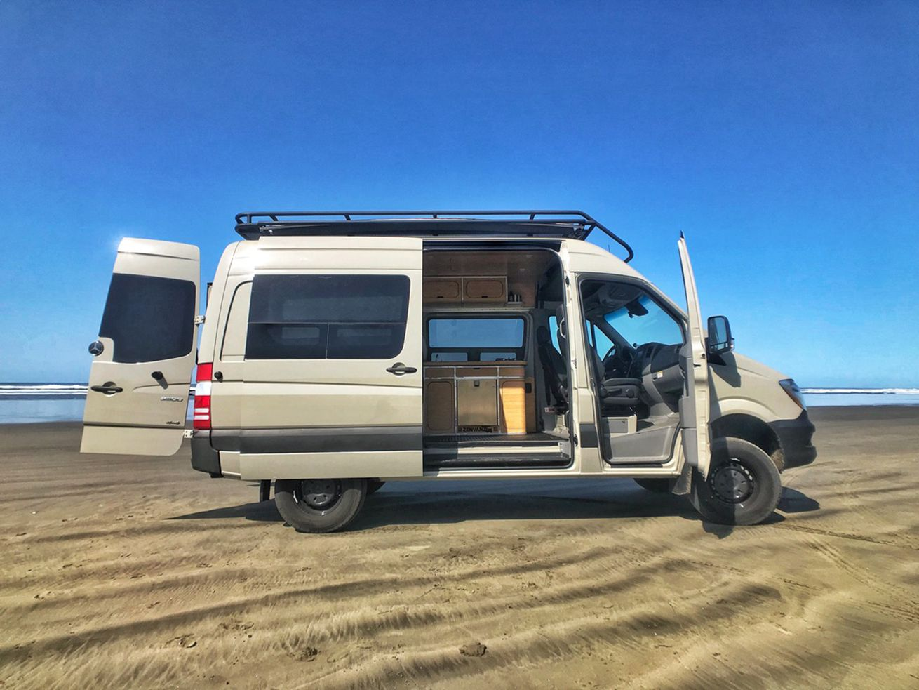Elegant bamboo camper kits get you van life for $18K