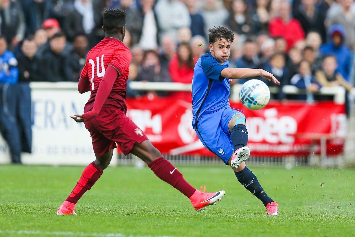France U16 v Portugal U16 - Mondial Football 2017