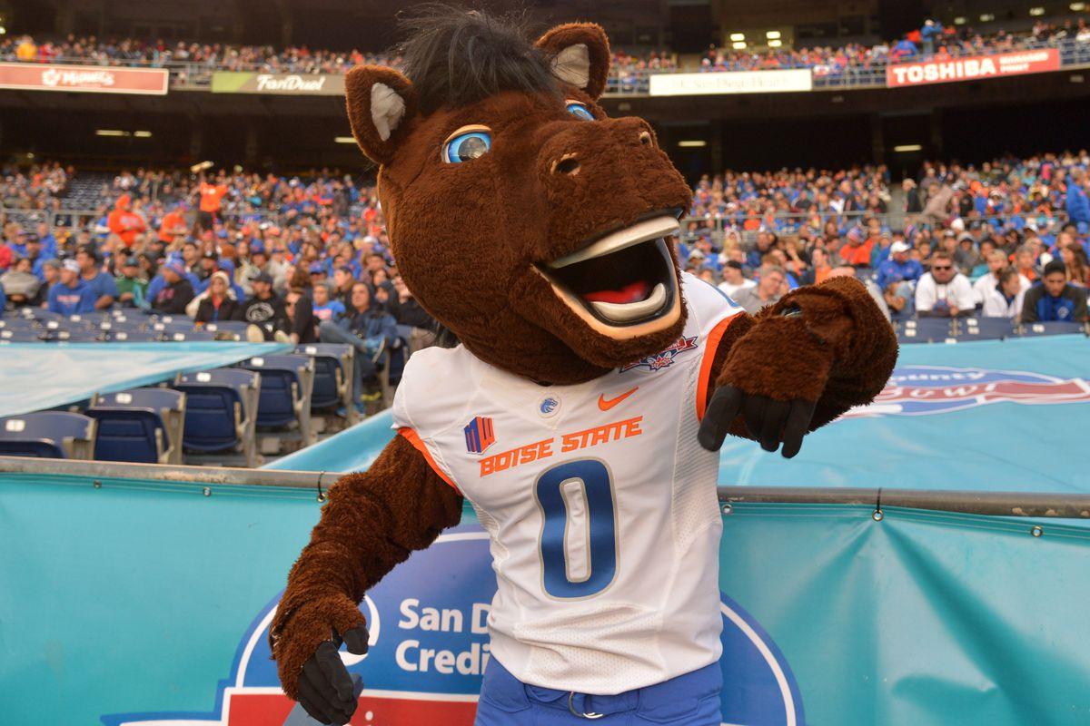 NCAA Football: Poinsettia Bowl- Boise State vs Northern Illinois