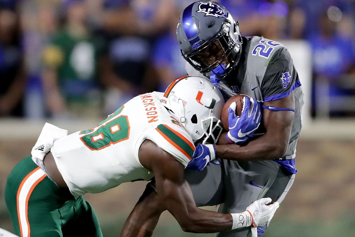 Duke drops first game of the season, falls to undefeated Miami