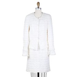 Chanel suit, $3,200