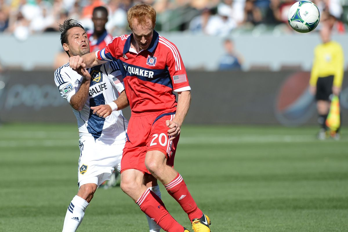 Will Saturday see Jeff Larentowicz in midfield, or on the backline?