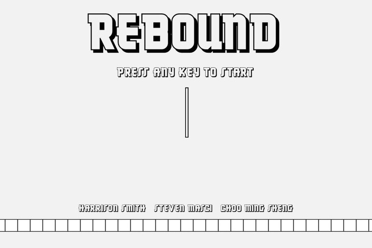 Rebound screenshot