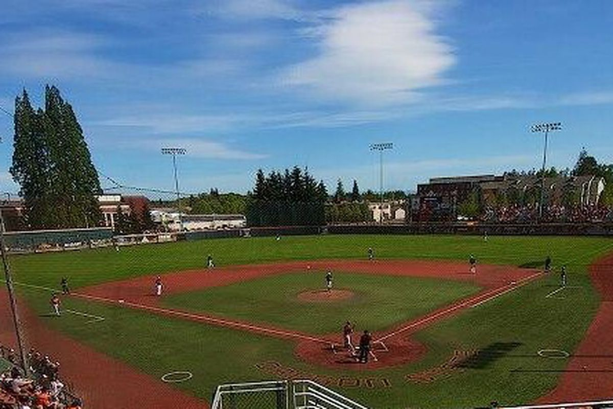 Its another beautiful day for baseball at Goss Stadium!