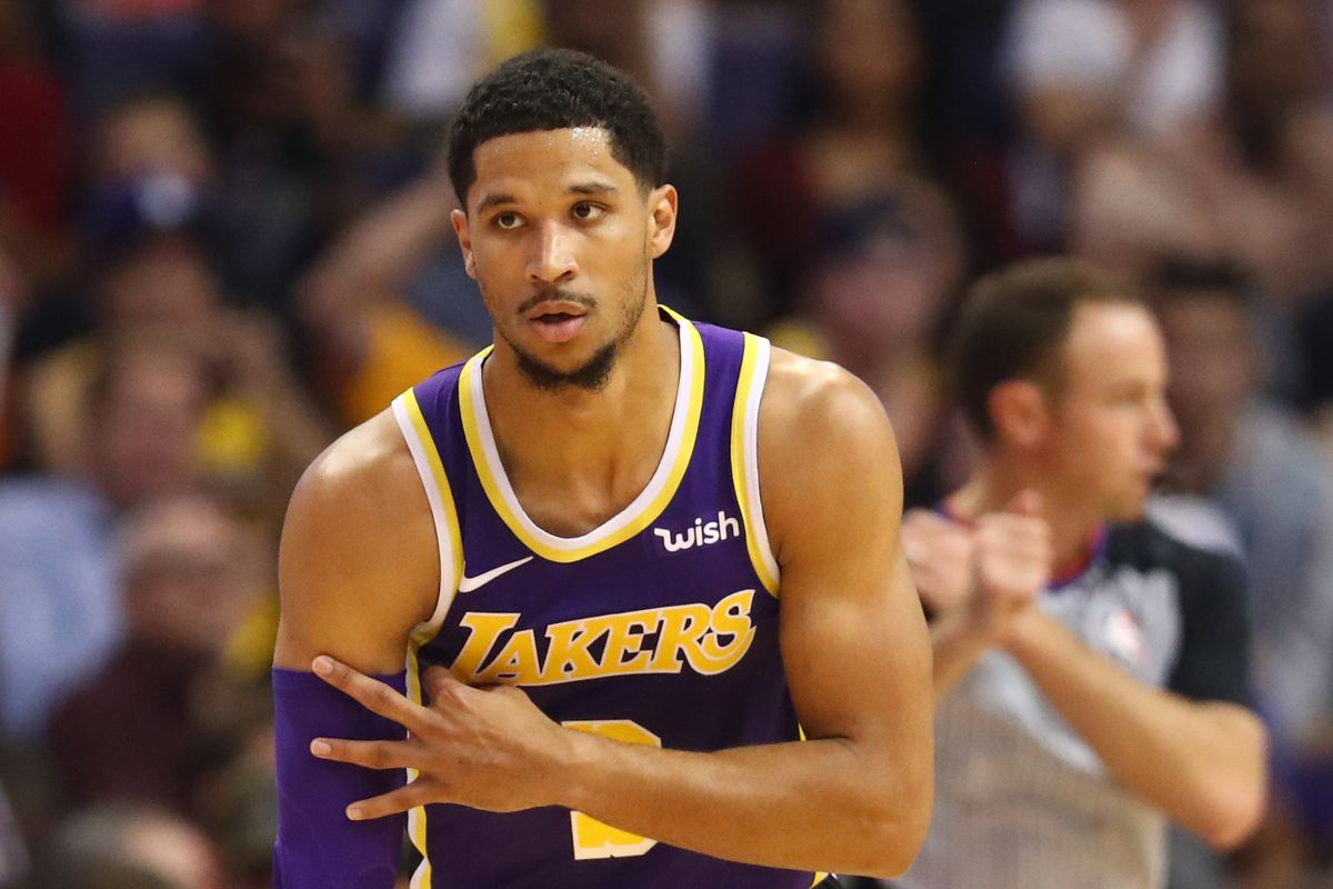 purchase cheap 574a6 3e91f Report: Suns wanted Lakers' Josh Hart in return for Trevor ...