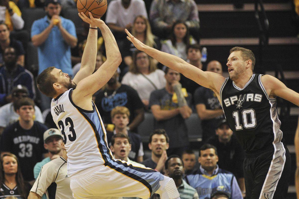 NBA: Playoffs-San Antonio Spurs at Memphis Grizzlies