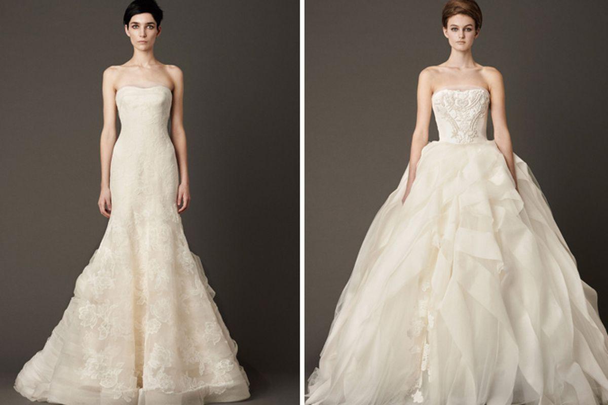 Images of the Fall 2013 bridal collection via Vera Wang