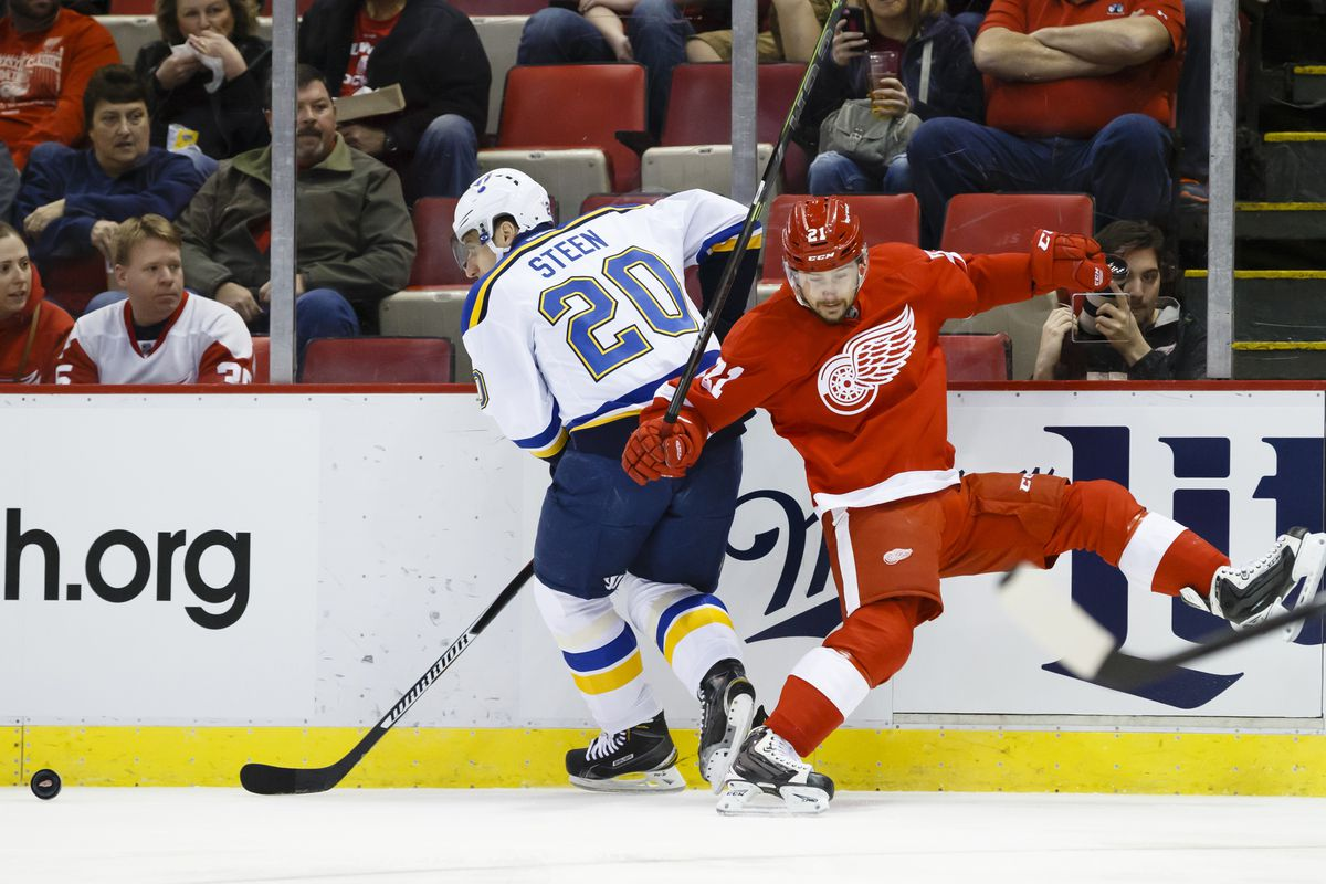 Gamethread for st louis blues at detroit red wings jan 20 2016 rick osentoski usa today sports m4hsunfo