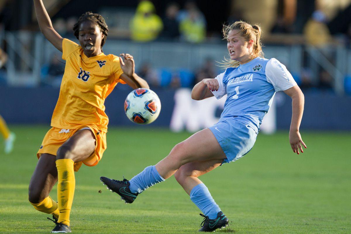 NCAA Soccer: Women's College Cup - West Virginia vs North Carolina