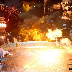 最终幻想15:带注释的屏幕画廊