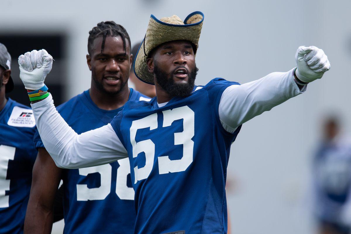 NFL: MAY 27 Colts OTA