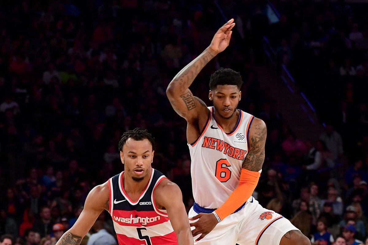 Wizards 115, Knicks 99: Scenes from a preseason poop-fest
