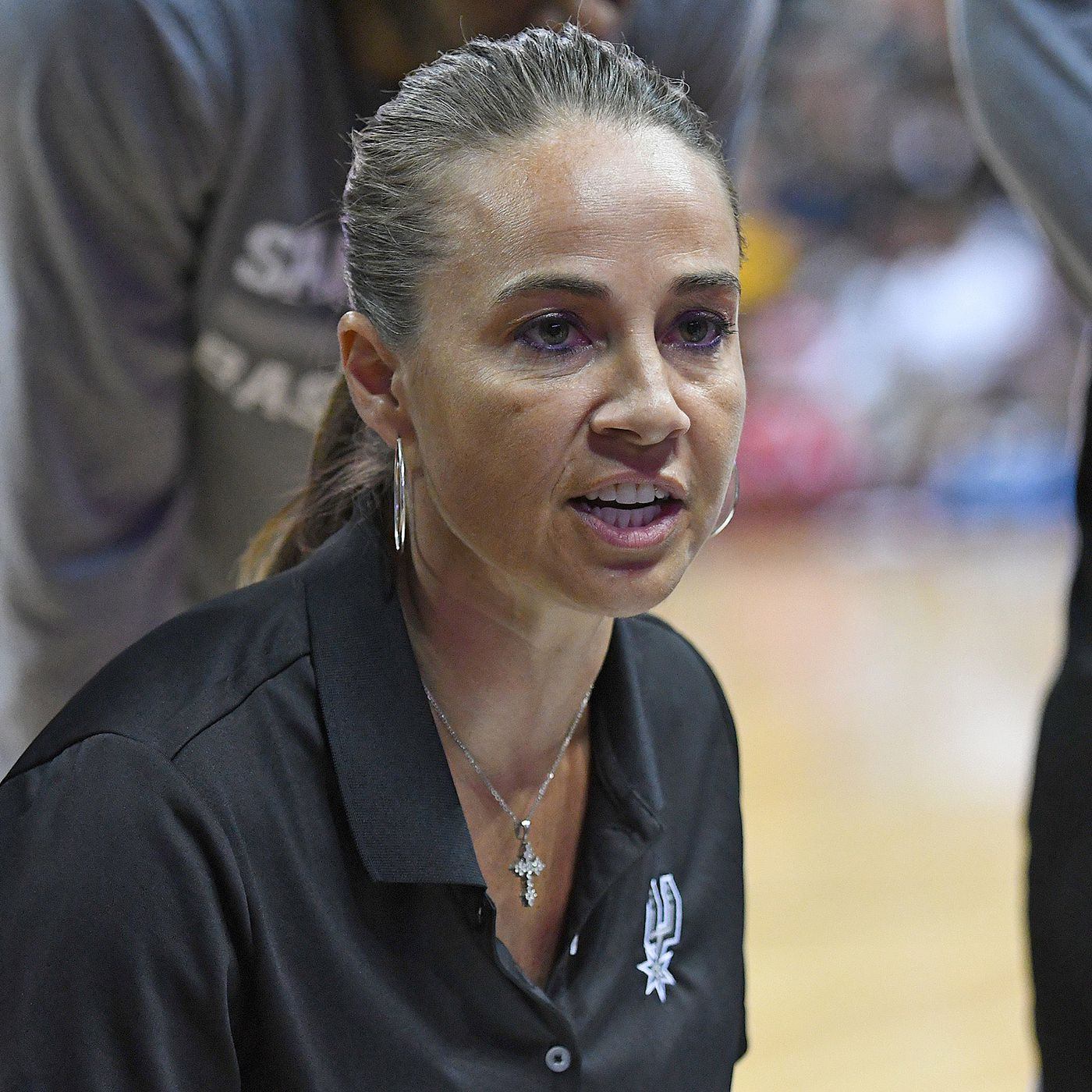 Spurs Becky Hammon A Top Candidate For Head Coach At Colorado State Pounding The Rock