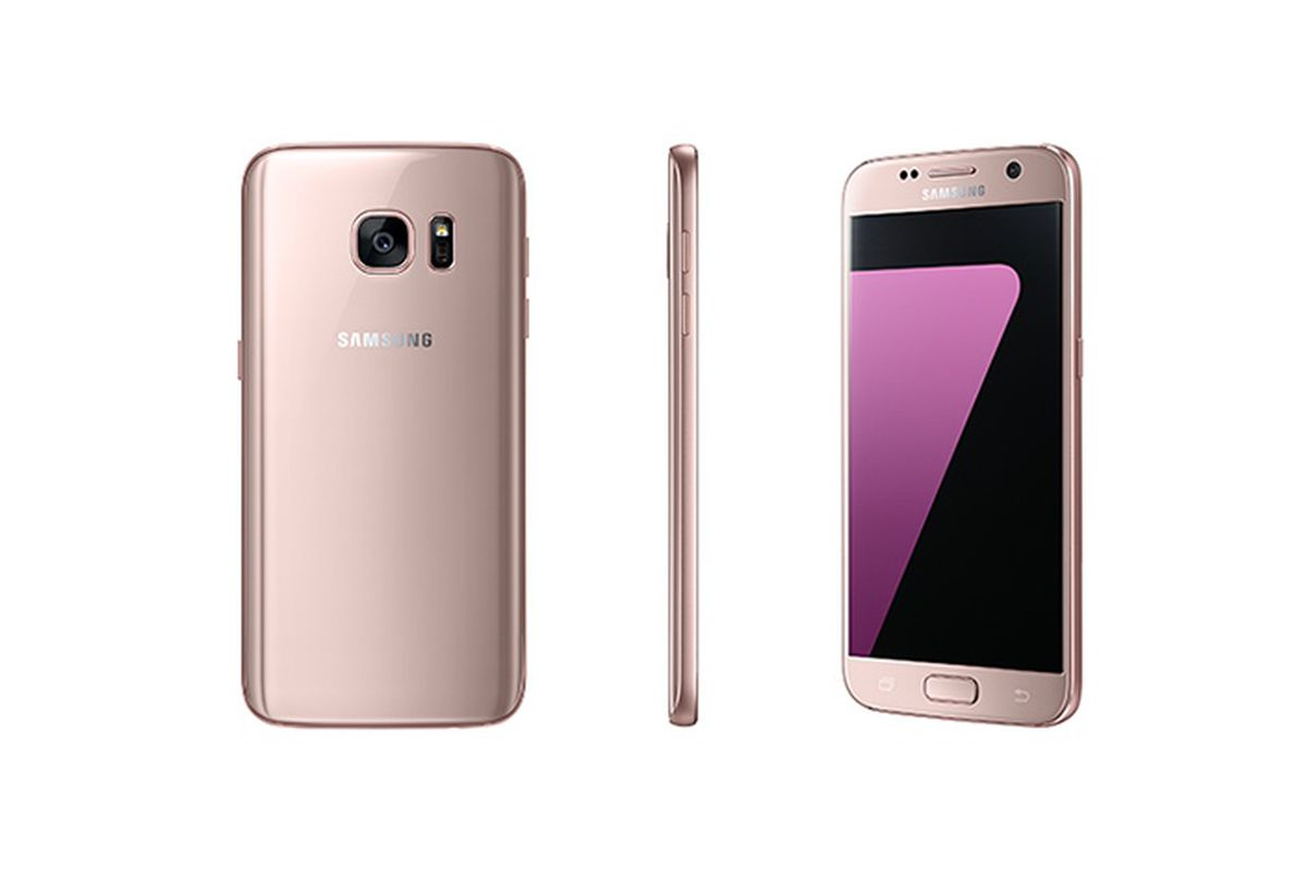 samsung 39 s 39 pink gold 39 galaxy s7 and s7 edge are coming to. Black Bedroom Furniture Sets. Home Design Ideas