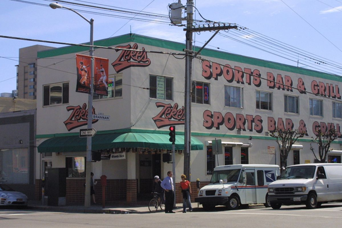 Zeke's closed on October 10.