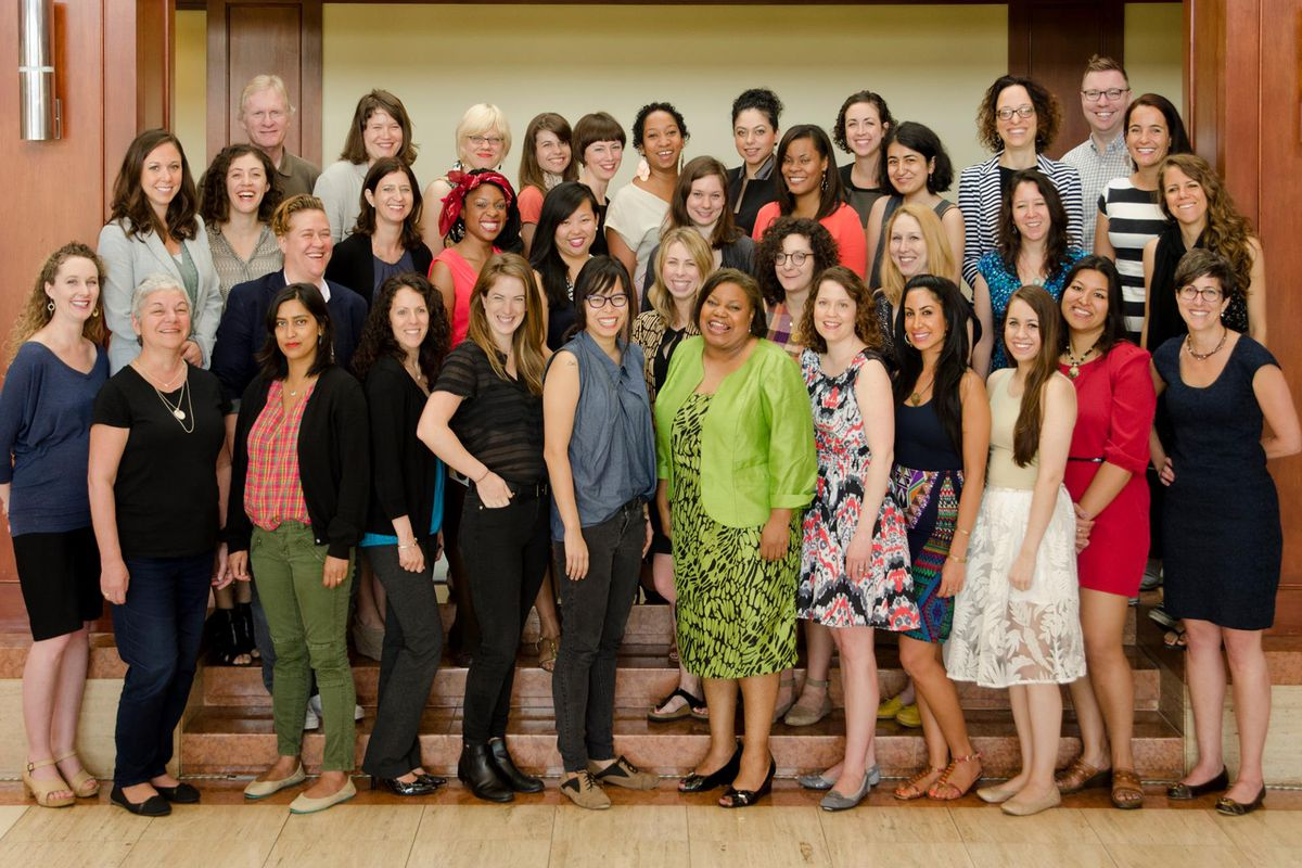 The first class of ONA-Poynter Leadership Academy for Women in Digital Media.