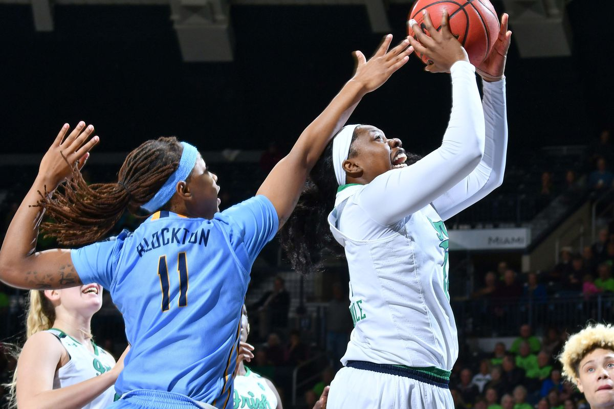 NCAA Womens Basketball: Marquette at Notre Dame
