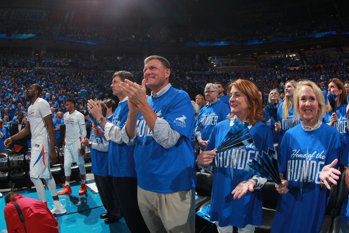 Dallas Mavericks v Oklahoma City Thunder - Game Five