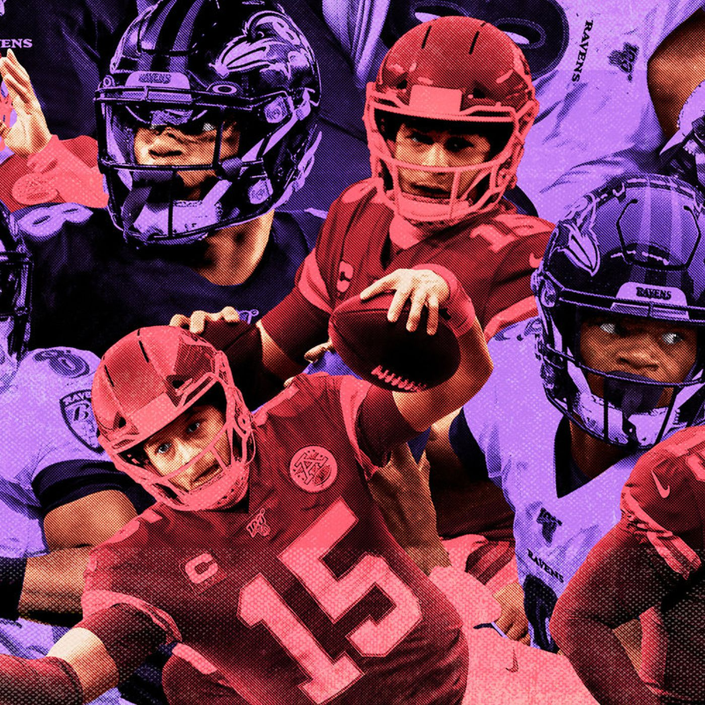 The 15 Best Lamar Jackson And Patrick Mahomes Highlights Ranked The Ringer