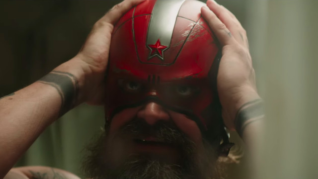 David Harbour is basically the Russian Captain America in Black Widow