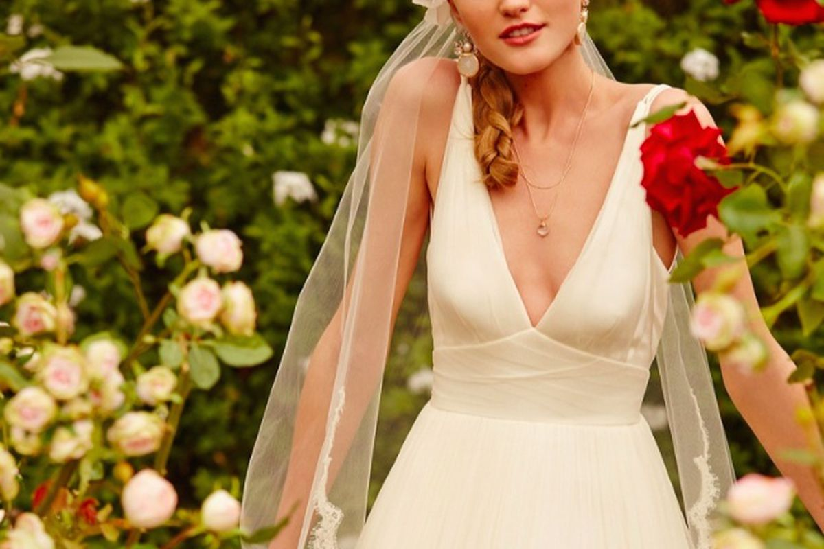"""Photo: <a href=""""http://www.fashiongonerogue.com/bhldn-launches-garden-inspired-spring-2015-collection-wedding-dresses/"""">FGR</a>"""