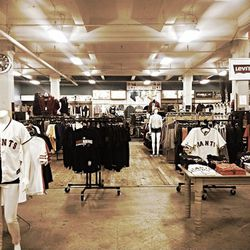 """<strong>Lombardi Sports</strong> is the longstanding sporting goods store that's <a href=""""http://sf.racked.com/archives/2014/10/01/lombardi-sport-is-closing.php"""">making way</a> for condo development. The doors haven't officially closed just yet so there's"""