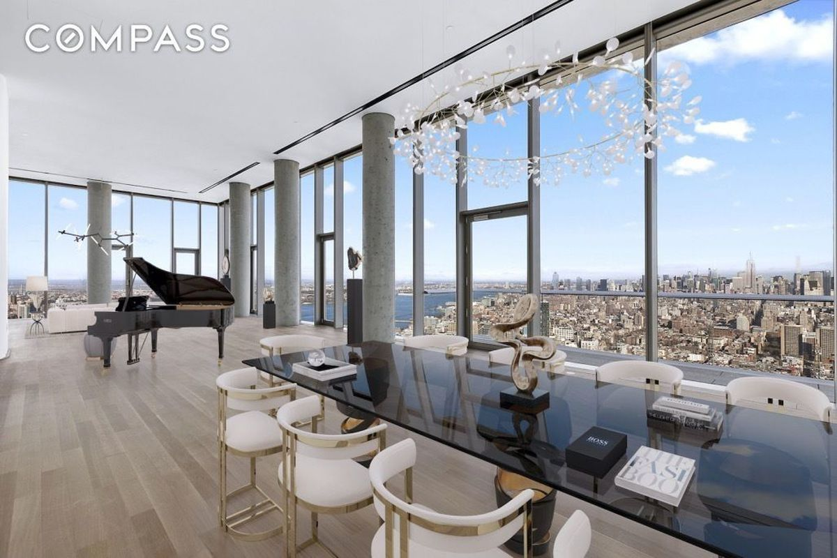 Huge 56 Leonard Penthouse Reappears As A 35m Flip Curbed Ny
