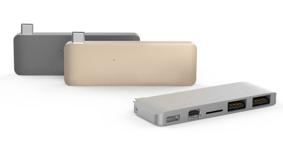 Someone Finally Made A Usb C Hub With A Mini Displayport The Verge