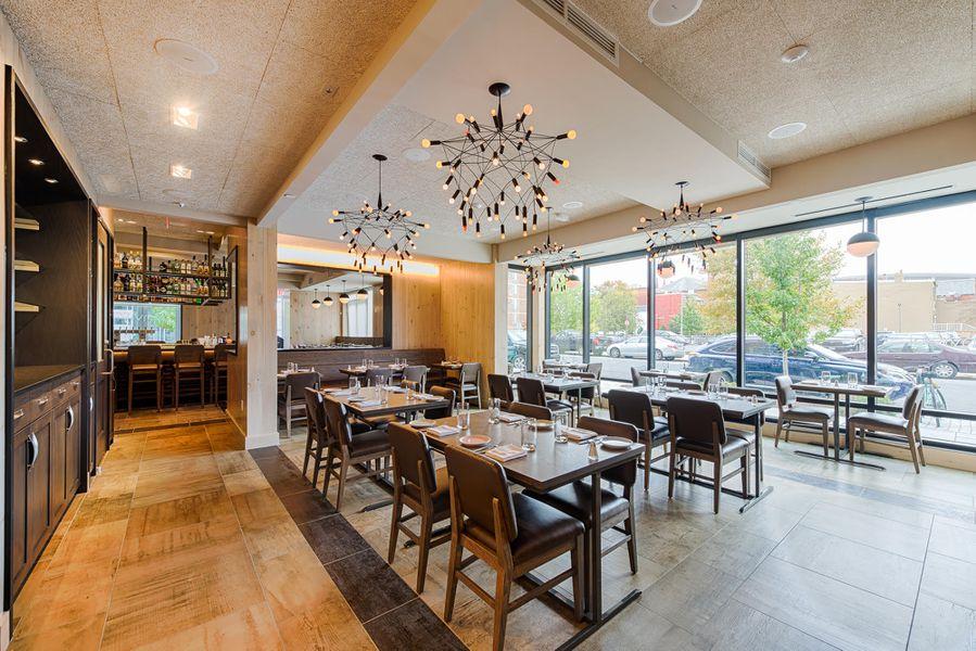 Inside Convivial Cedric Maupillier S New Restaurant In