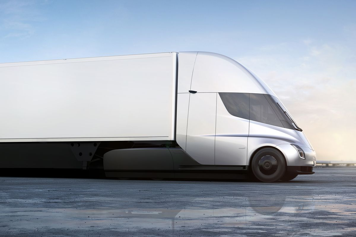 Teslas Electric Semi Trucks Are Priced To Compete At 150000 The Fuel Filter Image Tesla