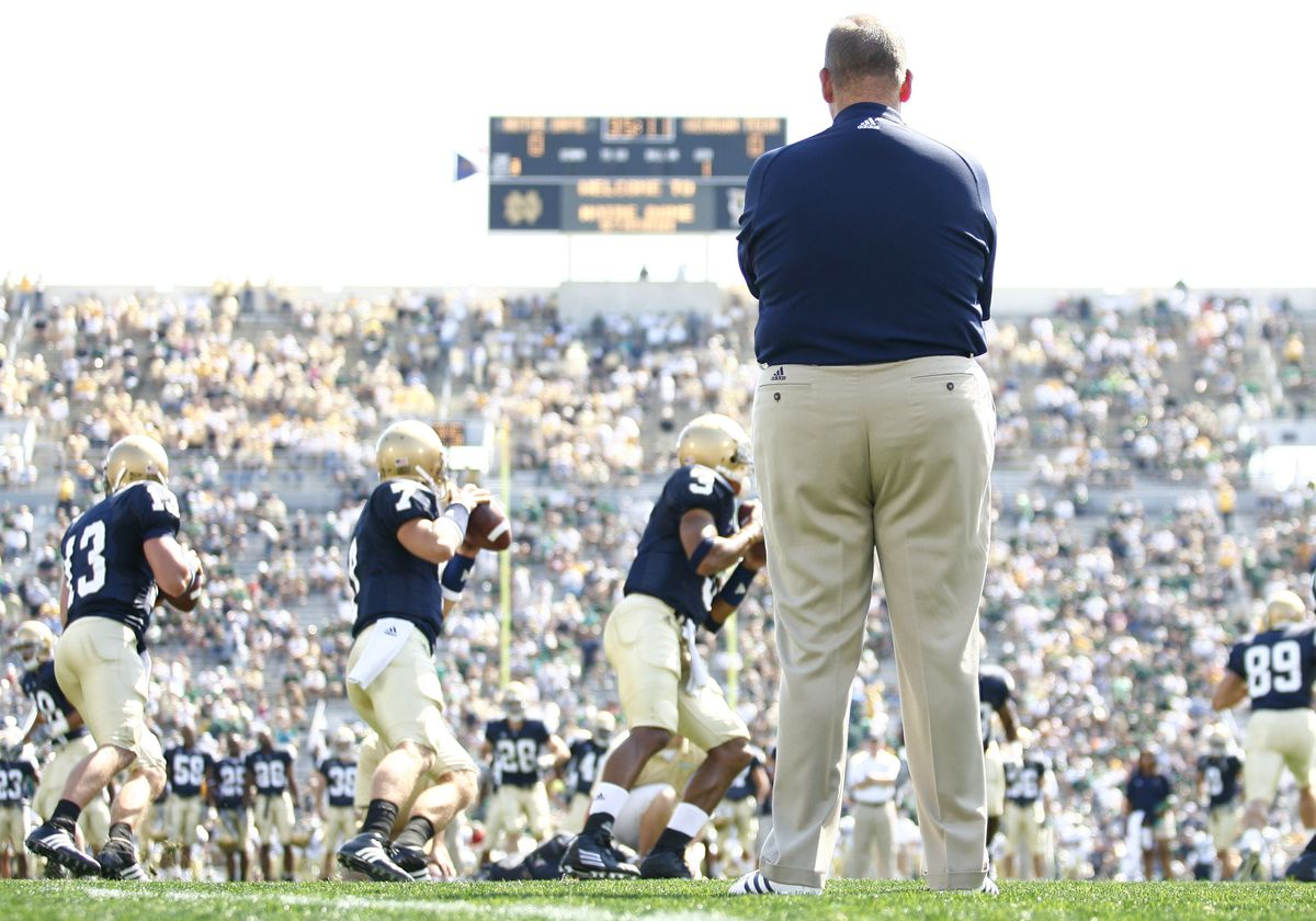 Football - NCAA - Georgia Techs vs. Notre Dame