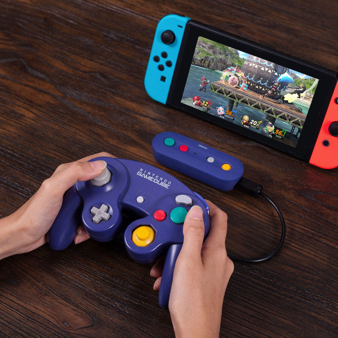 theverge.com - Andrew Webster - This Nintendo Switch adapter turns your GameCube controllers wireless