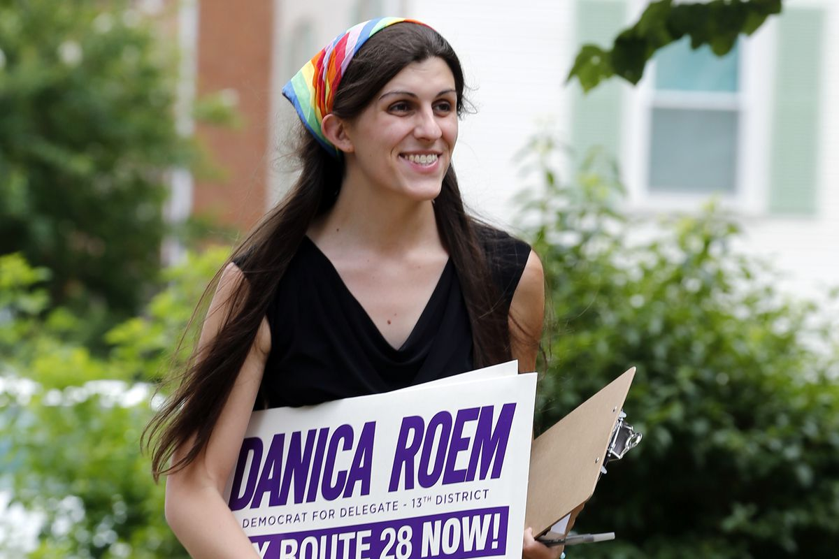 Image result for Danica Roem knocking on doors
