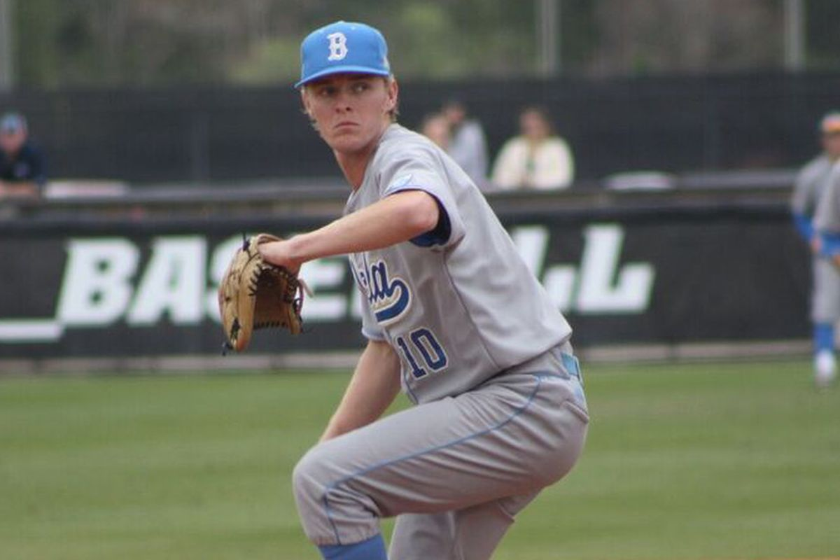 Scott Burke has been solid for UCLA in the late innings.